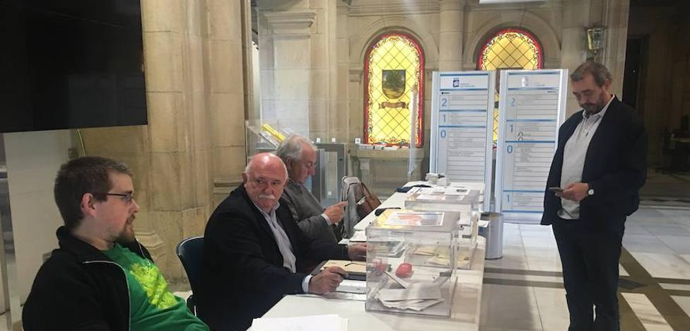 Baja participación en las elecciones del distrito Este de San Sebastián