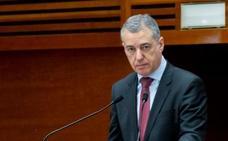 Urkullu afirma que la alternativa a los Presupuestos de Rajoy era «el no Gobierno»