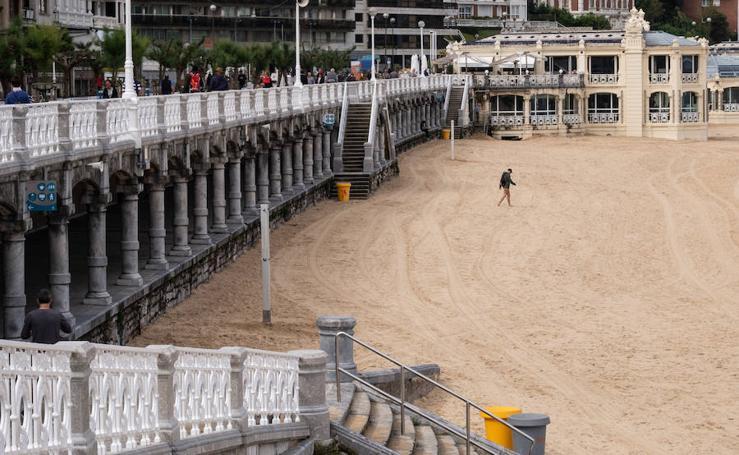 El estreno de las playas se prevé con un tiempo inestable