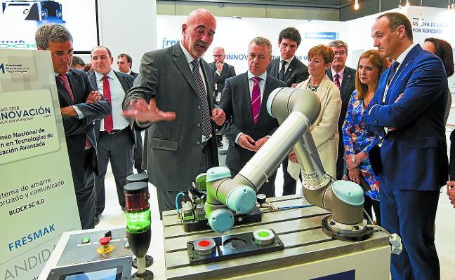 Los robots para la industria del futuro conquistan la feria