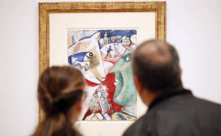 Chagall, en el Guggenheim