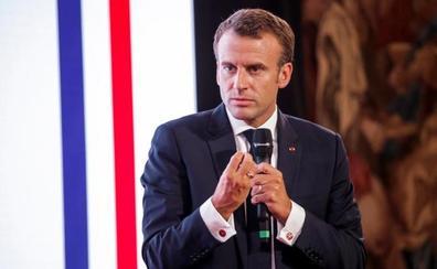 Macron dice a Trump que el nacionalismo económico perjudicará también a EE UU