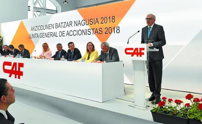 CAF aboga por la inversión, dispuesta a alianzas o nuevas compras que «aporten valor»