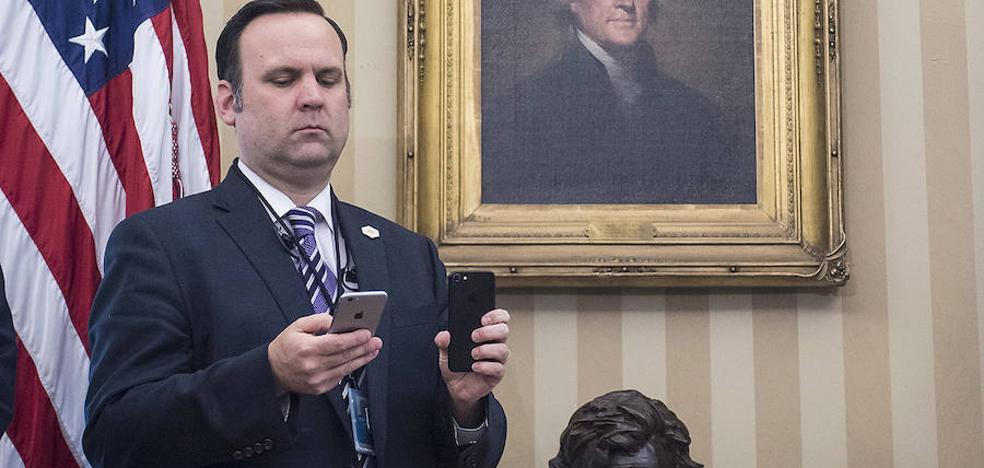 Dan Scavino, de caddie a hombre de confianza de Trump
