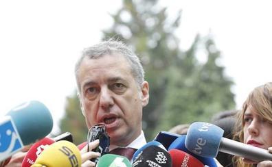 Urkullu confía en que el PP no se deje llevar por la «venganza» con los Presupuestos