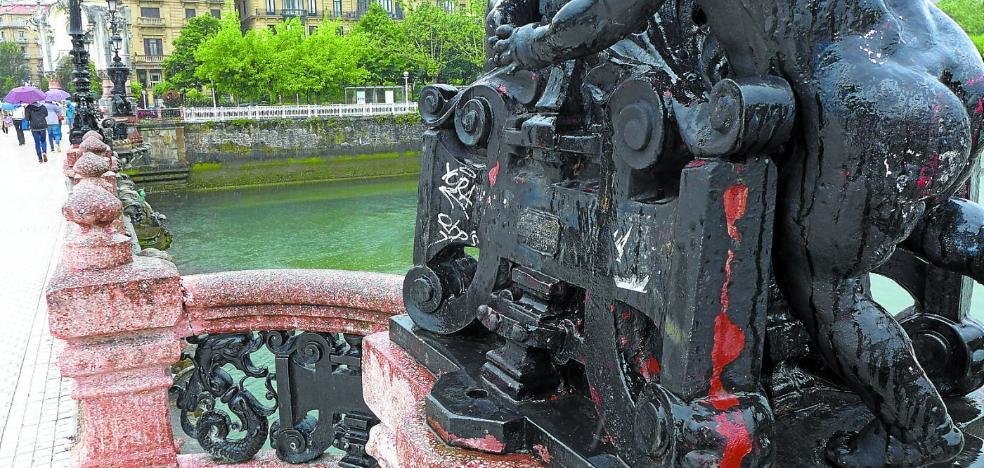 La restauración ornamental del puente María Cristina se iniciará en otoño y durará 8 meses