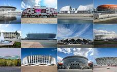Los 12 estadios: del pomposo Luzhniki al moderno Samara