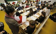 Selectividad en la Universidad del País Vasco: horarios y fechas