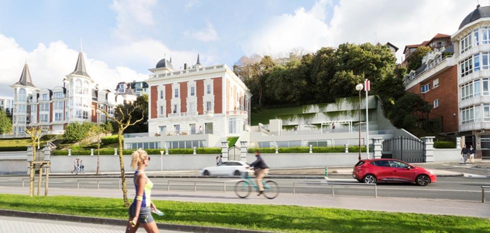 Villa Almudena da paso a seis viviendas de lujo de más de 200 m2 en San Sebastián