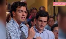 Un pipiolo Pedro Sánchez en su primera vez en TV