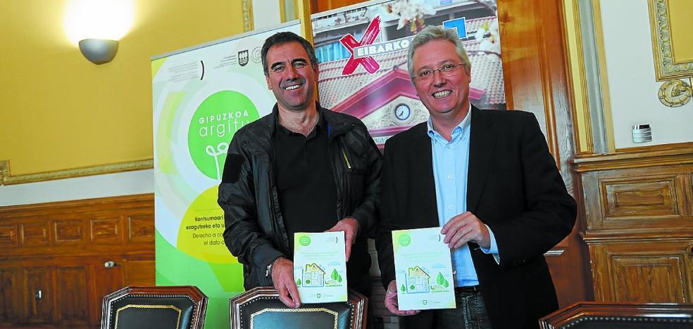 Gipuzkoa Argitu inicia hoy en Eibar sus talleres sobre ahorro de energía