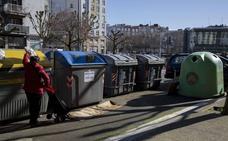 La nueva distribución de contenedores de basura en Amara e Intxaurrondo arranca el día 25
