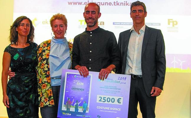 Urratsbat concede el premio de mejor empresa a un proyecto de La Salle