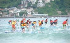 El australiano Both y la francesa Plana, sin rivales en la Eurotour paddle surf