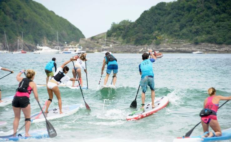 El circuito europeo de stand up paddle vuelve a Donostia