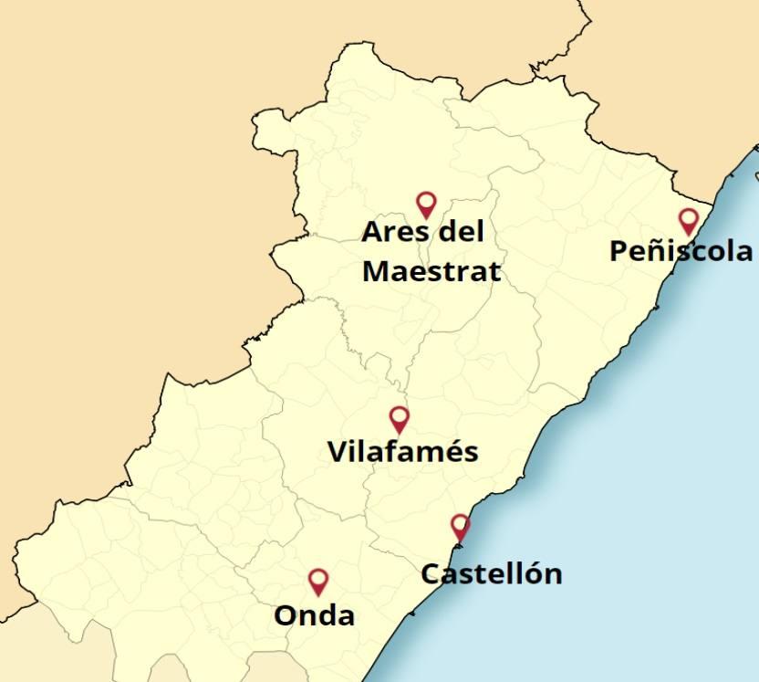 Los mejores rincones de Castellón