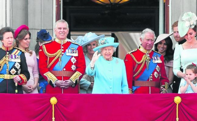 Cálido cumpleaños en el Palacio de Buckingham