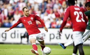 Dinamarca, todas las miradas apuntan al talento de Eriksen