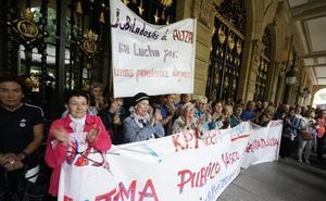 Jubilados vascos defienden las pensiones «gobierne quien gobierne»