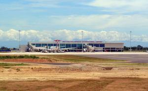 El aeropuerto internacional más vacío del mundo pierde sus últimos vuelos