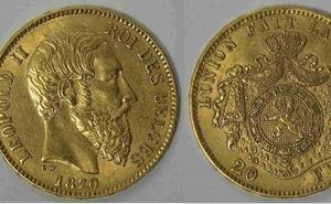 Unos obreros franceses hallan 600 monedas de oro belgas al demoler una casa