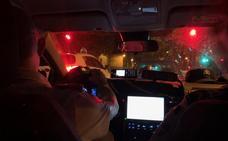 La noche donostiarra, desde dentro de una patrulla de la Guardia Municipal