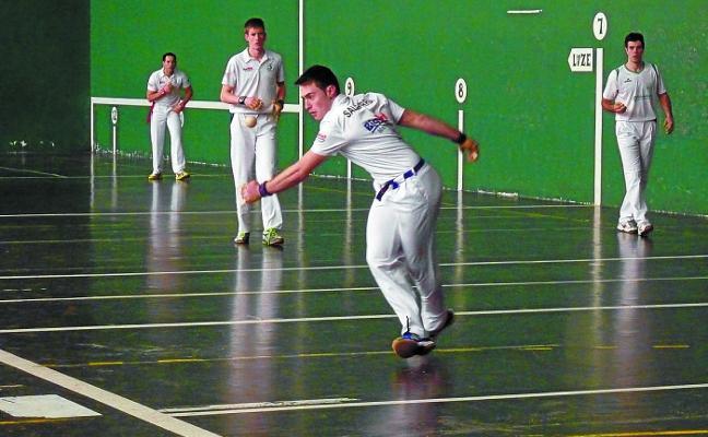 El Instituto Navarro de Deporte y la federación de pelota impulsan un plan