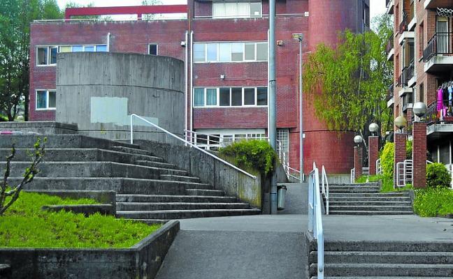 Sustituirán las rampas de Plazido Muxika para mejorar la accesibilidad