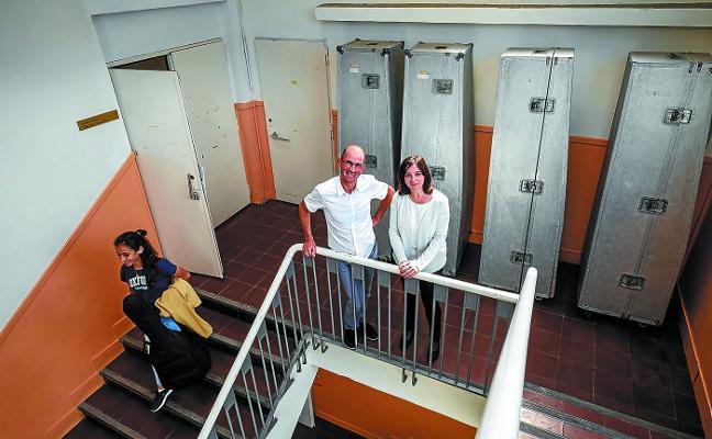 El Conservatorio de Donostia denuncia la «insostenible» situación de su sede