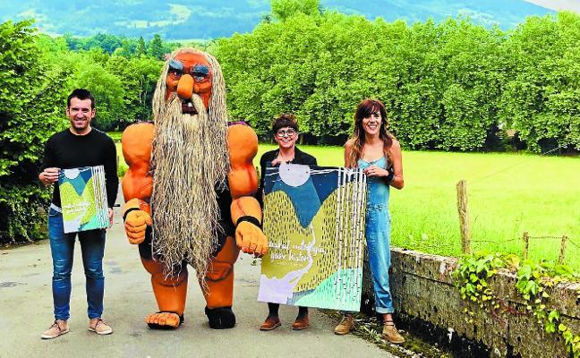 Ganbara quiere llenar los jardines de Kirrukua con la magia de la mitología