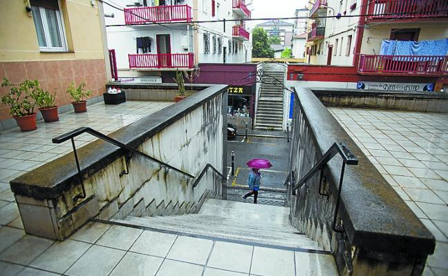 Nuevas ayudas para superar las escaleras de Iñigo de Loyola