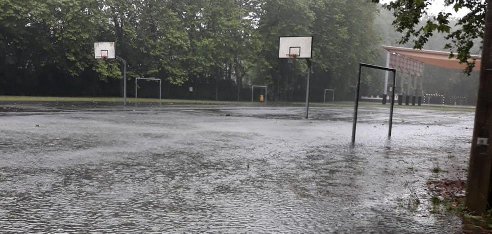 «El agua nos llegaba hasta las rodillas»