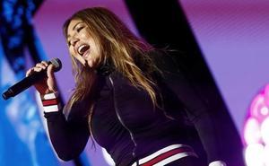 Amaia Montero alega «problemas de sonido» para justificar su actuación en Cantabria