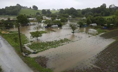 Las lluvias intensas y el viento ponen a prueba a Gipuzkoa