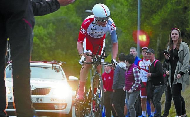 Xabier Mikel Azparren, campeón de Gipuzkoa