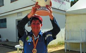 Ana Cerro Bernal, campeona de España de tiro con arco instintivo 3D