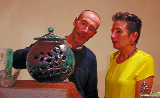 Los ceramistas muestran sus trabajos en el Usurbe