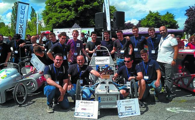 Goierri Eskola gana tres premios en el Campeonato de Vehículos Eléctricos