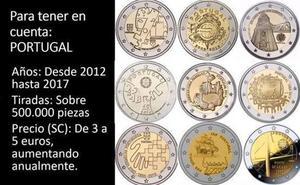 Las monedas de 2 euros que debes guardar para luego ganar un dineral