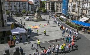 Gure Esku Dago matiza que la dirección no ha pedido dinero a hosteleros de Vitoria