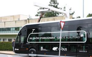 El primer autobús articulado 100% eléctrico inicia ruta el lunes en Donostia
