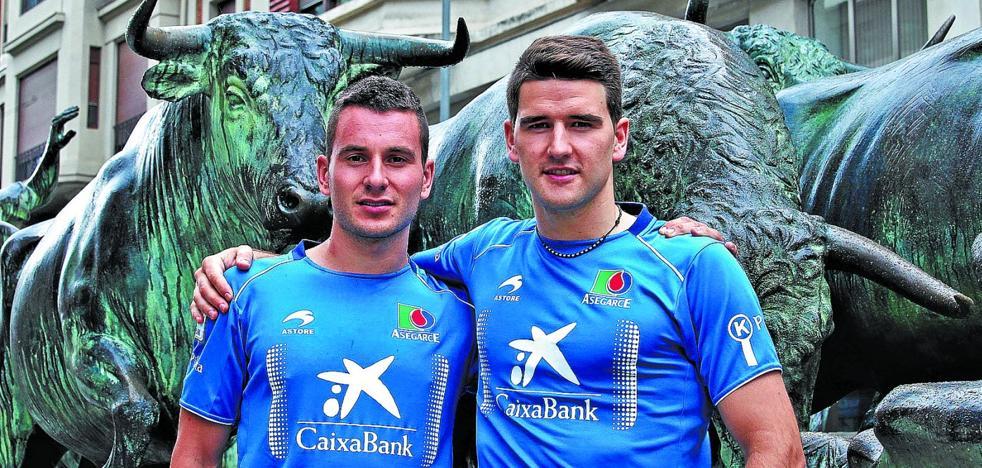 Ander Imaz: «Nunca he jugado en Sanfermines, sí en Zarautz y Donostia»