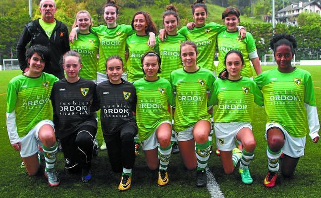 Sobresalientes los equipos femeninos de fútbol del Beti Gazte