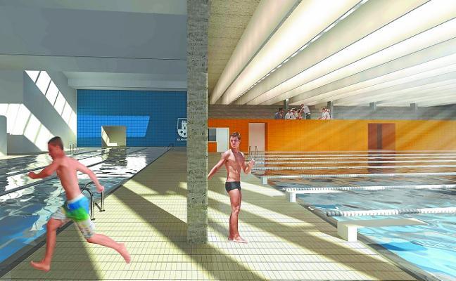 La construcción de la nueva piscina de Olaizaga comenzará en 2019