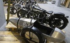 Motos de exposición en Casa Ciriza