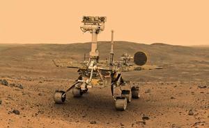 Una tormenta de arena sin precedentes en Marte deja al 'Opportunity' en una «perpetua noche»