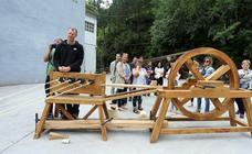 Se empiezan a fabricar las cuerdas de la nao 'San Juan'