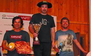Iraitz Oyarbide vence en la Copa de Euskadi