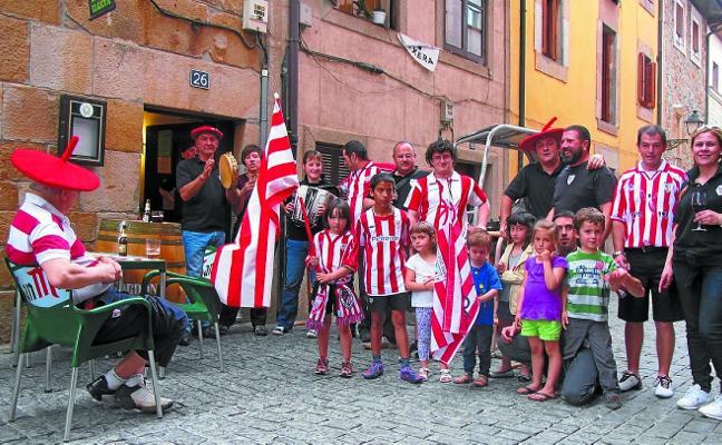 Veinte peñas rojiblancas guipuzcoanas celebran mañana se encuentro anual