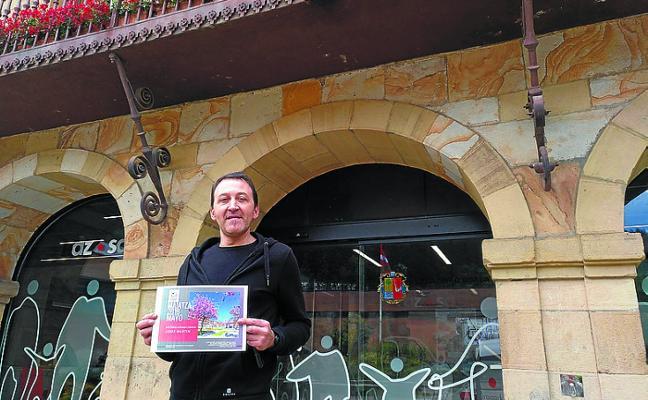 Jesús Martín, ganador del mes de mayo dentro del concurso del calendario municipal